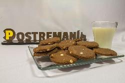 Fotografía de Galletas con Nutella y Chispas