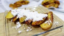 Postre de Plátanos fritos