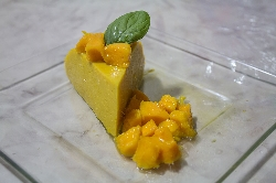Postre de Gelatina de Mango
