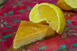 Postre de Flan de Naranja