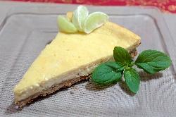 Postre de Cheesecake de Limón