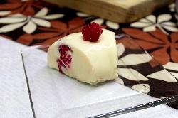 Postre de Gelatina de Chocolate Blanco